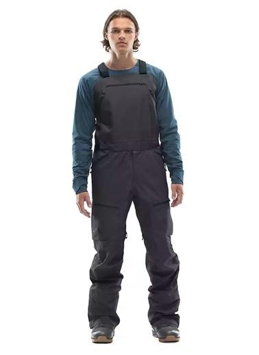 The North Face M Brigndn Bib Erkek Pantolon Gri Siyah